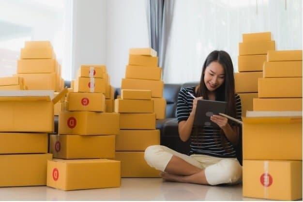 cajas para enviar